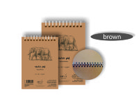 Альбом Sketch pad – Natural Brown, формат А4, 80 листов, 135 г/м