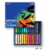 Набор сухой пастели Mungyo Soft Pastel For Artists 24 цвета