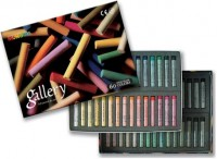 Набор сухой пастели Gallery Extra Soft Pastels For Artists 60 цветов круглая