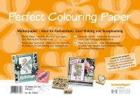 Бумага Perfect Colouring А4 для маркеров 10 л, 250 г/м
